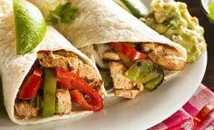 Low Calorie Dinner Recipes - Chicken Fajitas