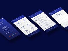 App Design - KOMISARIATI DIXHITAL by Ana Hoxha