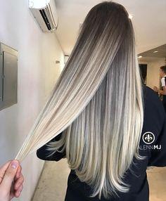 Technique: Ombre Foils Teasing technique (100% hair bleached ) . .Proces: using L'Oréal Multitechnique 8 bleach with 30vol (9%) and Olaplex . Toner: Roots 6(80%) +5(20%)Richesse + 6vol(1.8%)1:1 Middle Clear(90%) + 8(10%) 1:1/2 Ends Clear(90%) +10.12(10%) Dialight + 6vol(1.8) 1:2