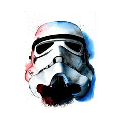 Stormtrooper Watercolor Concept Star Wars Rogue One