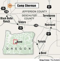 Retreat ...; Camp Sherman offers Central Oregonians a quiet weekend getaway