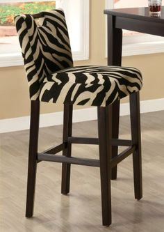 29 Bar Stool in Zebra by Coaster...CLICK for more detail...FREE Shipping on order over $25