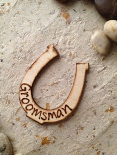 Horseshoe Groom and Groomsman Lapel Pins for by PrinceWhitaker, $49.99