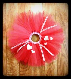 Colorful Valentine Heart tutu for toddlers by LilSweetPeaTutus, $21.99