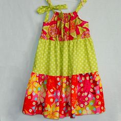 how to sew a tiered dress