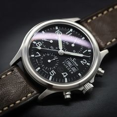 The traditional chronograph. Dream Watches, Chronograph, Pilot, Traditional, Accessories, Wrist Watches, Pilots, Jewelry Accessories