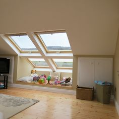 Attic Masters is a professional attic conversion company based in Dublin, providing high quality conversion and insulation services in Ireland. Attic Master Bedroom, Attic Bedrooms, Attic Bathroom, Bedroom Loft, Bathroom Interior, Attic Loft, Attic Renovation, Attic Remodel, Attic Reading Nook