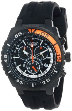 Nautica Mens N16657G NST 700 Chrono Fashion Active Watch * See this great product.(This is an Amazon affiliate link and I receive a commission for the sales)