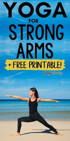 Build up strong arms with this at home yoga routine. Perfect for any beginner starting yoga. Really glad I practice yoga now, one of the best things I ever started!!! :)