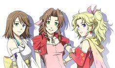 Yuna, Aerith & Terra