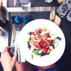 Lunch   #milano  #salad