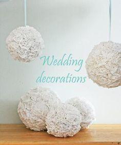 DIY Wedding Decorations Using Tshirts : DIY Wedding