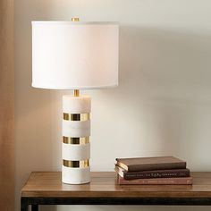 Eloise Marble Table Lamp