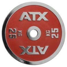 ATX® Powerlifting #Hantelscheiben 25 kg für schweres Gewichtheben.  Artikel: 50-ATX-CICP-2500
