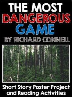 most dangerous game reading activities The most dangerous game questions and answers - discover the enotescom community of teachers, mentors and students just like you that can answer any question you might have on the most dangerous game.