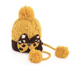 Jemsi Women' s Winter Pom Pom Knitted Hat with Big Bow Yellow and black Jemis http://www.amazon.com/dp/B00QRVVRE4/ref=cm_sw_r_pi_dp_k.O6vb0M2966K