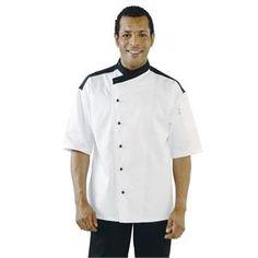 Chaqueta de cocina blanca Metz Chef Works