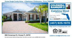 Homes for Sale in Ocoee - 660 Cimarosa Ct, Ocoee FL 34761 Single Family Home For Sale in Zipcode 34761 660 Cimarosa Ct, Ocoee FL 34761 - ( Westyn Bay ) Ocoee S…