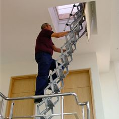 1000 Images About Ladders On Pinterest Retractable