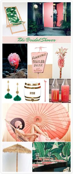 Tiki party inspiration - if i get a second shower... this would have to be it