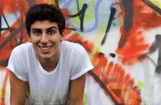 Matteo sorriso a graffiti