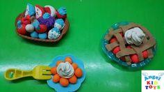 Đồ Chơi Đất Nặn Play Doh Playful Fruit Pies Playset