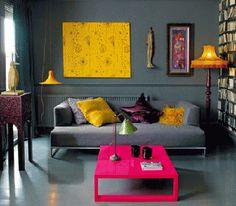 Modern Living Room Color Scheme
