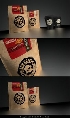 Who wants some Black Sheep #Coffee #packaging PD