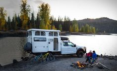 What makes the EXD different from other campers is it's low maintenance, premium components, and ergonomic comfort which comes from the proven EarthCruiser design. It is a turn key vehicle that is built on a Ford, Ram or Chevy chassis. Custom Campers, Overland Trailer, Entry Stairs, Expedition Truck, Outdoor Post Lights, Truck Camper, Camper Van, Fresh Water Tank, House On Wheels