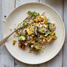 Corn-and-Zucchini Orzo Salad with Goat Cheese | Food & Wine