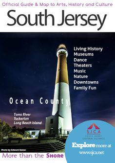 Official Guide & Map of Arts, History & Culture in South Jersey Ocean County