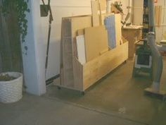 how to build a cart to hold plywood scraps