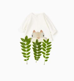 Organic cotton squirrel top #joinlife