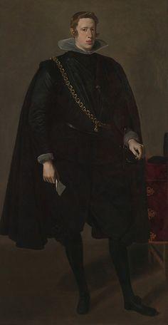 Philip IV (1605–1665), King of Spain Velázquez (Diego Rodríguez de Silva y Velázquez) (Spanish, Seville 1599–1660 Madrid)