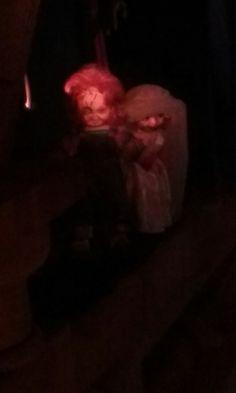 Chucky and chuckys bride. Wax museum