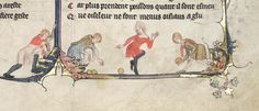 Bowling in Oxford, Bodleian Library MS Bodley 264