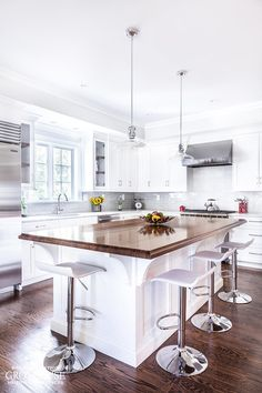 Walnut with Sapwood Kitchen Island Countertop with a 3/4″ Cove on top horizontal edges, bottom horizontal edges, and 1/8″ Roundover on vertical corners and a Durata® Waterproof Permanent Finish in Satin sheen. https://www.glumber.com/image-library/walnut-countertop-white-cabinetry-madison-nj/