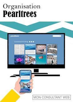 Un outil très pratique pour votre veille.  Peerltress vous permet d'organiser de manière visuelles des pages web, des articles, des visuels, des vidéos ou simplement vos notes. Vous pouvez ensuite les partagez avec d'autres utilisateurs. Page Web, Organiser, Connection, Articles, Organization, Professional Tools, Custom In