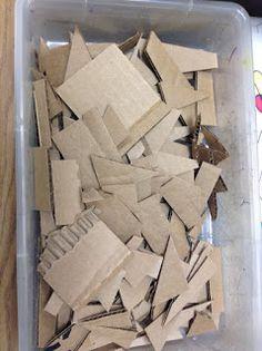 Autism/Special Ed. - Cardboard Sculpture