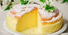 Cheesecake din 3 ingrediente - use sugar free white chocolate Just Desserts, Delicious Desserts, Dessert Recipes, Rice Cooker Recipes, Cooking Recipes, 3 Ingredient Cheesecake, Japanese Cheesecake Recipes, Gluten Free Cheesecake, Simple Cheesecake
