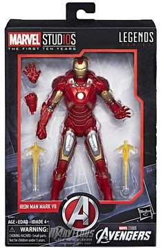 "Marvel Legends 10th Anniversary Iron Man 3 Pepper Potts 6/"" Loose Action Figure"