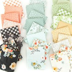 Instagram Riley Blake, Fat Quarters, Cross Stitch Embroidery, Gingham, Mindfulness, Quilts, Pattern, Fabric, Etsy