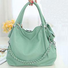 Price:$27.00 - On Sale Color:green/pink/orange/white Fresh Girl Shoulder Bag Handbag