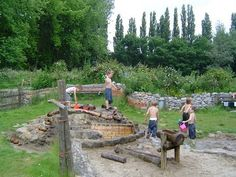 let the children play: water play in the preschool playscape