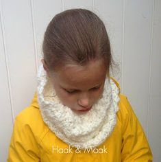 Haak by Daphne: Warme col Crochet For Kids, Diy Projects To Try, Shawl, Diy And Crafts, Om, Cupcake, Anna, Fashion, Scarves