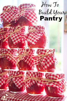 Having a well stocked pantry is so important! Here's how to build your pantry the easy way.