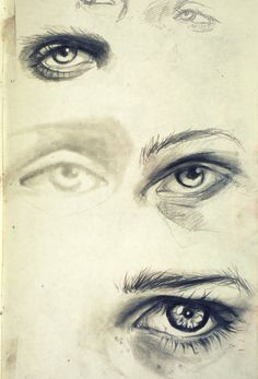 """menthola: """" i love drawing eyes, i wish mine were as good as these ones!! """""""