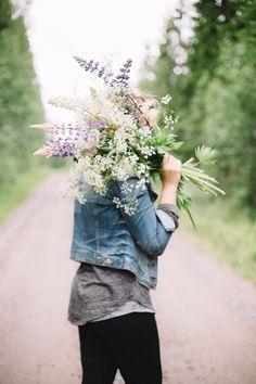 Midsummer in Finland / wild flowers