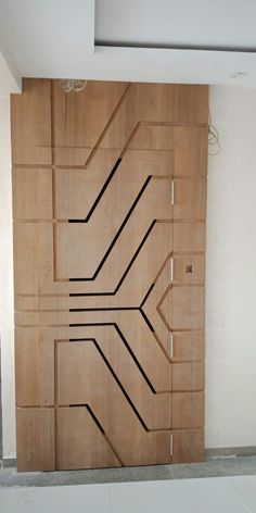House Main Door Design, Wooden Front Door Design, Pooja Room Door Design, Door Gate Design, Wooden Front Doors, Door Design Interior, Home Decor Hooks, Modern Wooden Doors, Wall Shelves Design