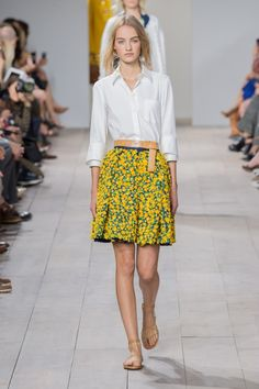 Michael Kors Spring 2015, ss15, summer, style inspiration, fashion